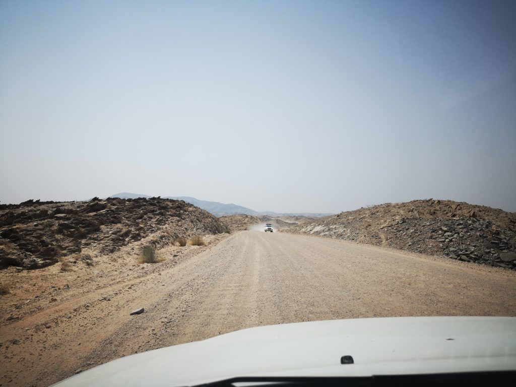 Roads, Namibia