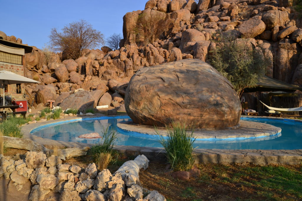 Pool, Madisa Camp, Namibia