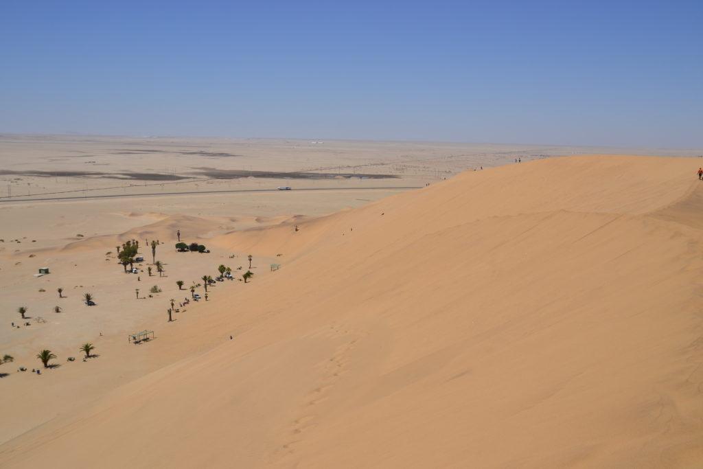 Parking, Dune 7, Namibia