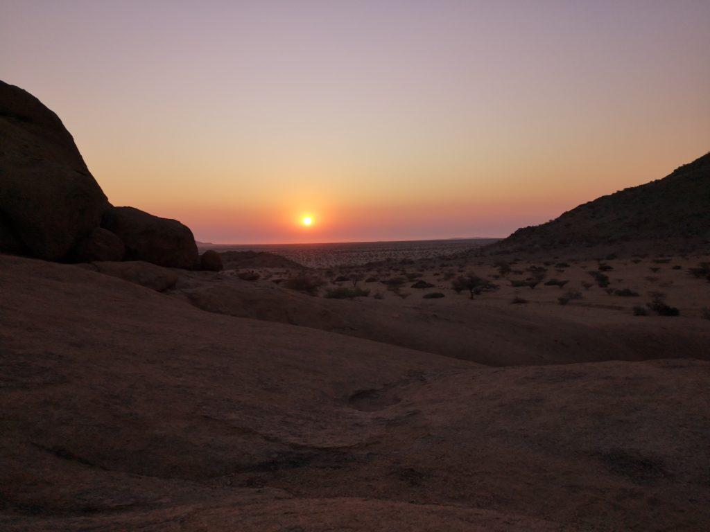 Sunset, Spitzkoppe, Namibia, Namibia Road Trip Itinerary