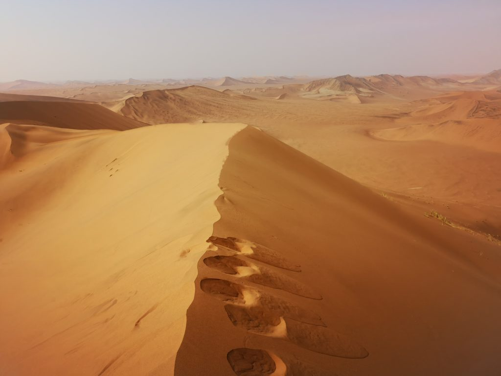 Desert everywhere, Namibia