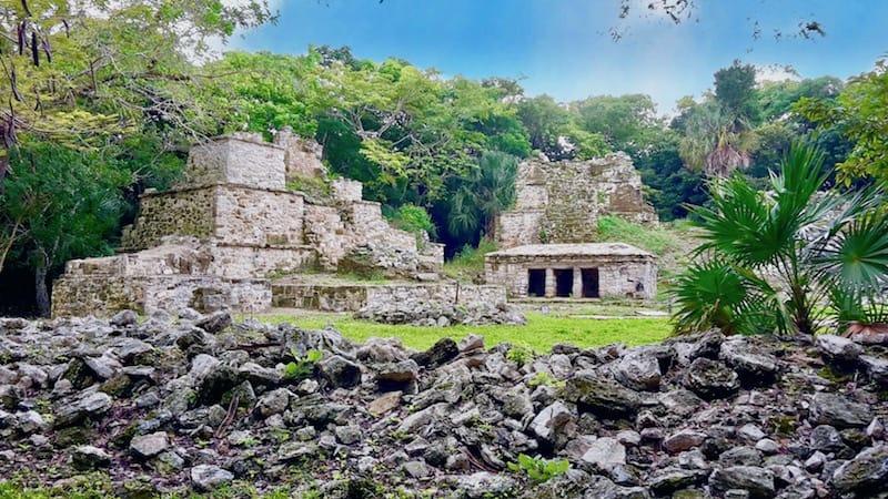 Self-guided day trip to Sian Ka'an & Muyil ruins