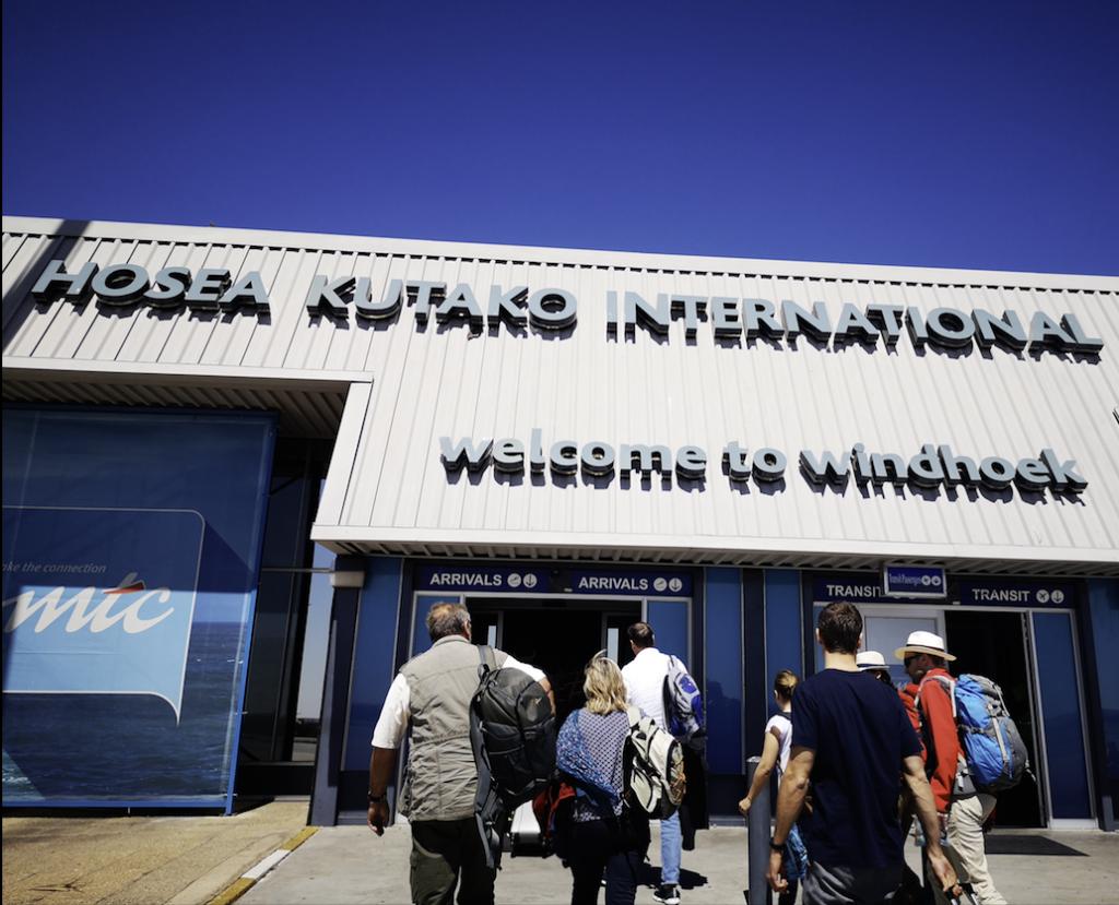 Airport, Windhoek, Namibia