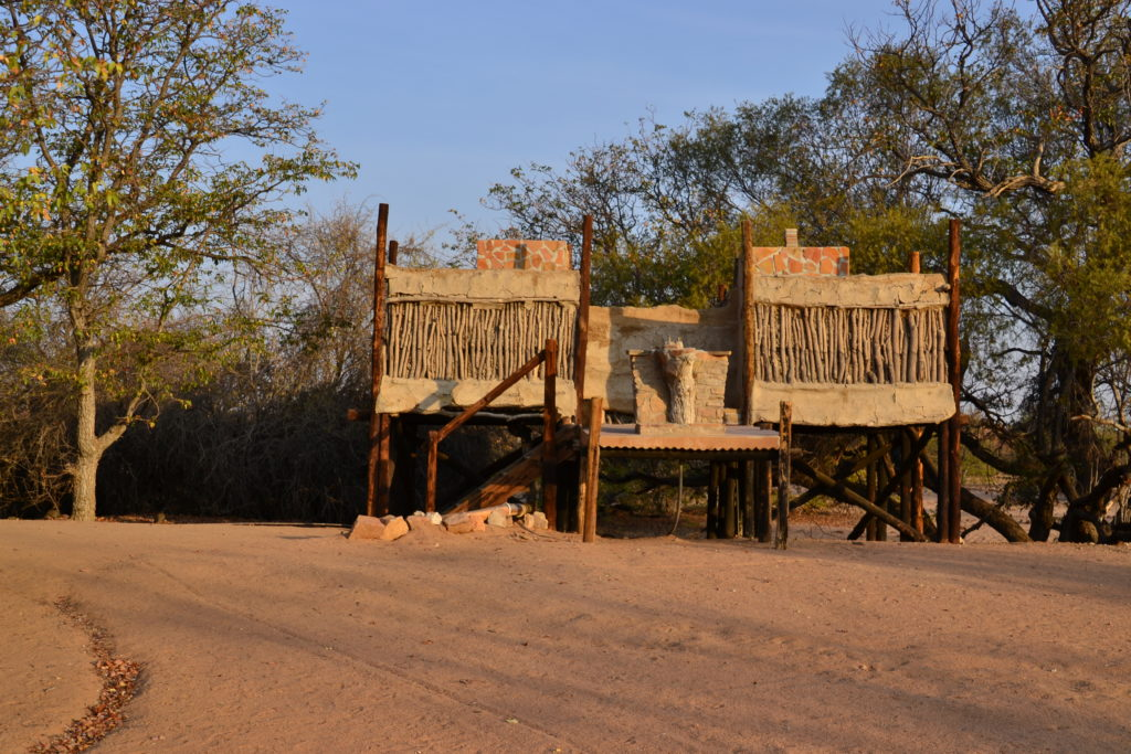 Ablution facilities at Campsite nr. 13, Madisa Camp, Camping in Namibia