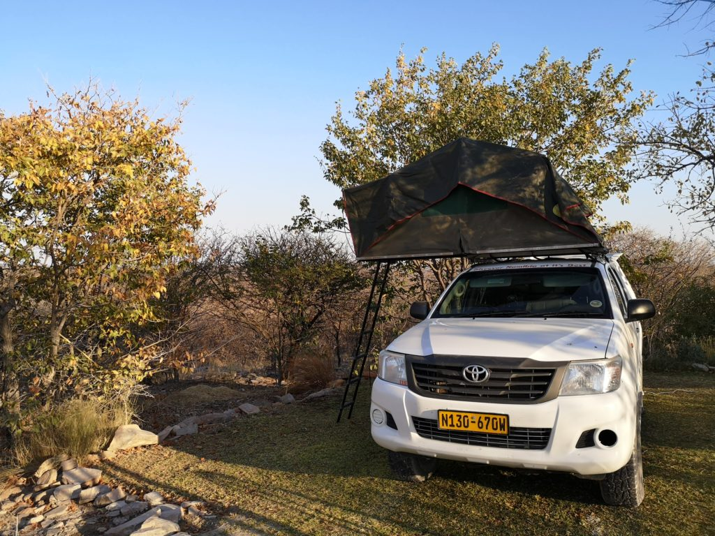 Our private spot at nr. 5, Mondjila Safari Camp