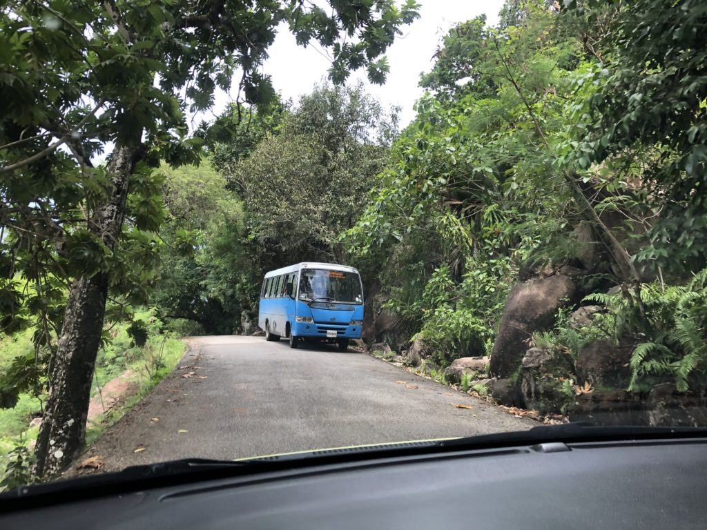 Travelling by bus, Praslin, 10 things to know before travelling to Seychelles