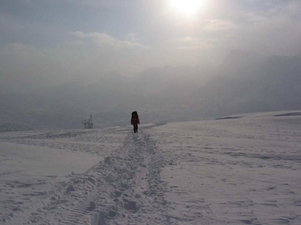 Reaching the top by -20 degrees , Krippenstein: the longest ski run in Upper Austria