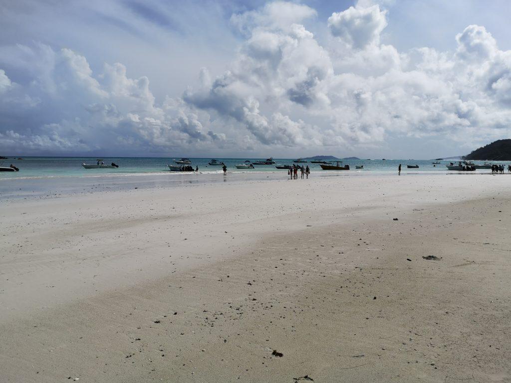 Anse Volbert - the longest beach in Praslin, A complete guide to Praslin Island in Seychelles.
