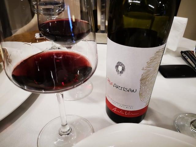 delicious Romanian red wine