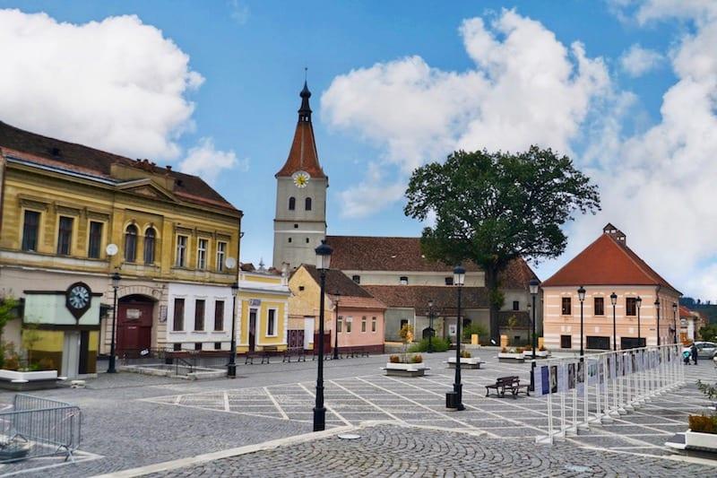 RASNOV City in Romania