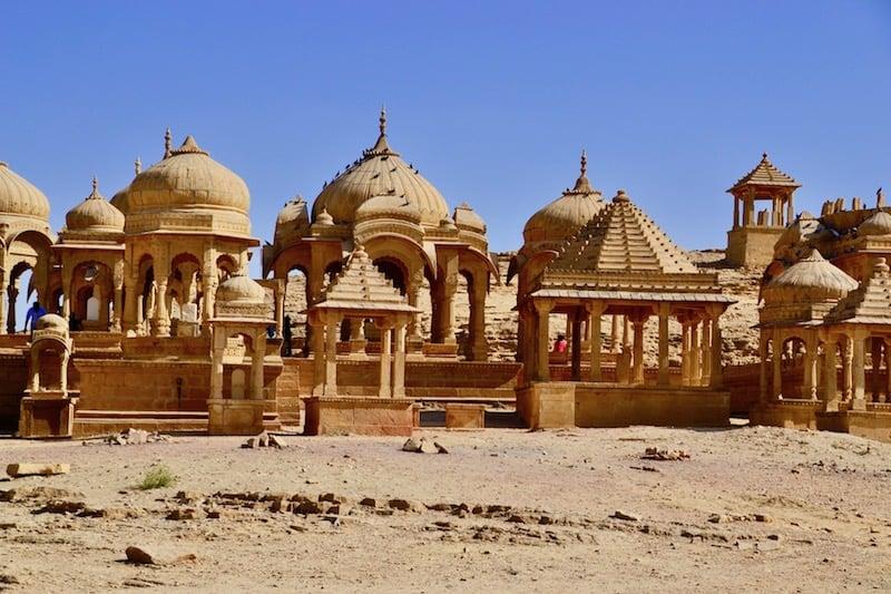 BADA BAGH CENOTAPHnear Jaisalmer, India