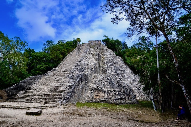 Exploring COBA RUINS On Your Own, Mexico
