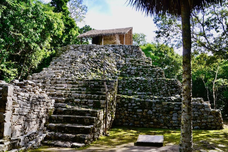exploring Coba Ruins