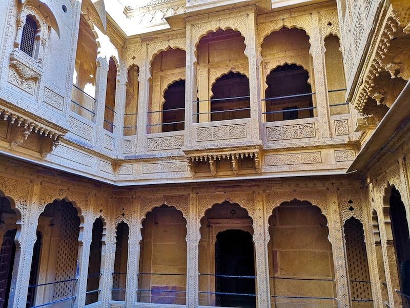 exploring the Havelis in Jaisalmer