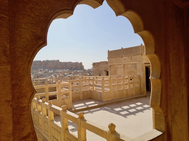 lovely views over the fort from the Havelis