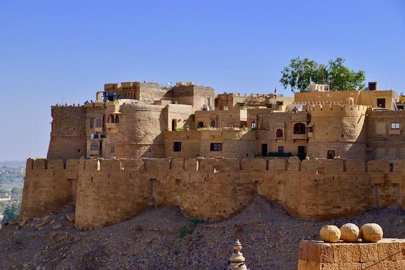 gorgeous views over Jaisalmer Fort