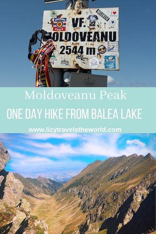 Moldoveanu Peak, one day hike from balea lake
