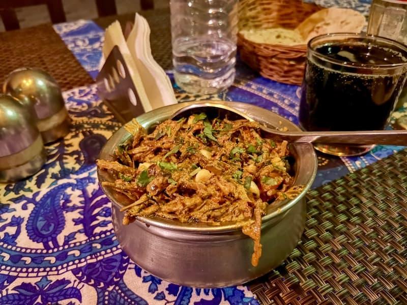 the delicious Ker Sangri in Jaisalmer