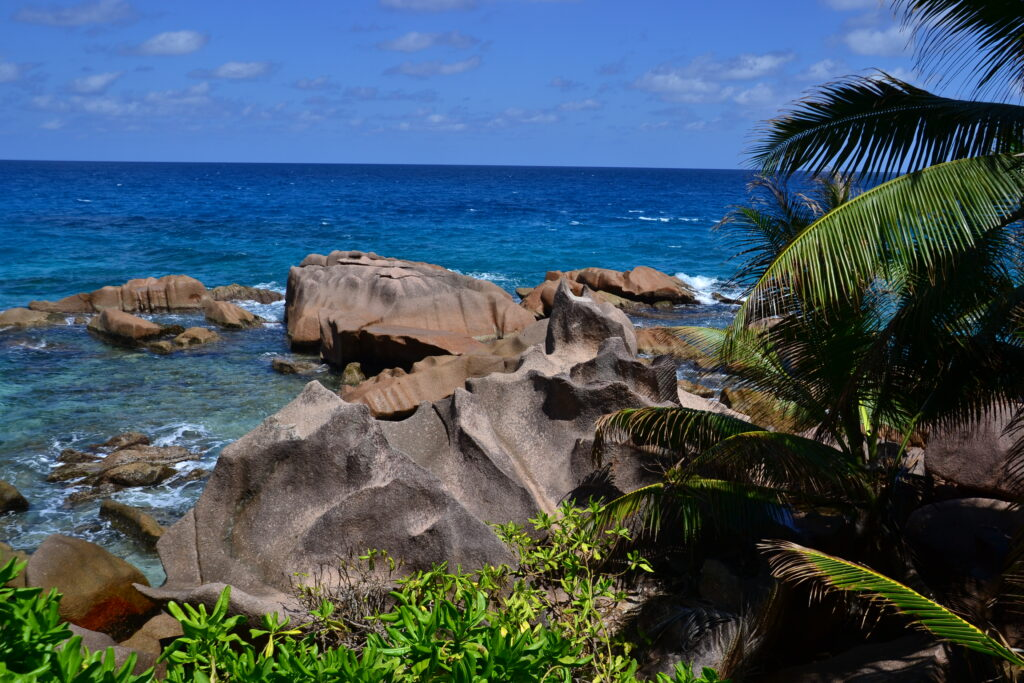 Gorgeous view over the ocean,A Complete Guide to La Digue Island in Seychelles