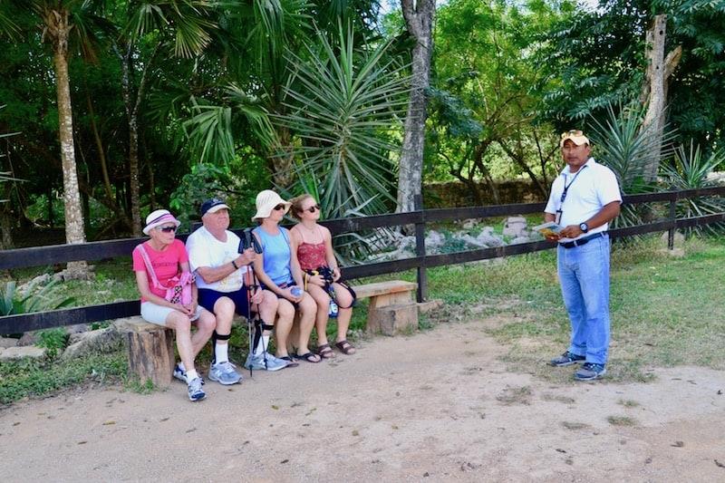 hire a local guide at Chichen Itza