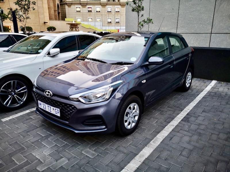 Rent-a-car Johannesburg