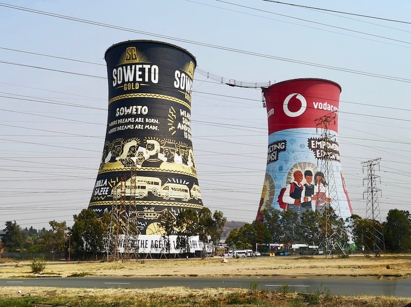Soweto Towers, one day in Johannesburg