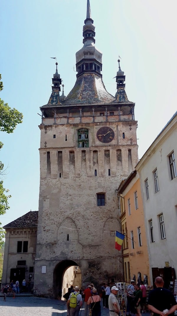 another tower inside the Citadel in Sighisoara