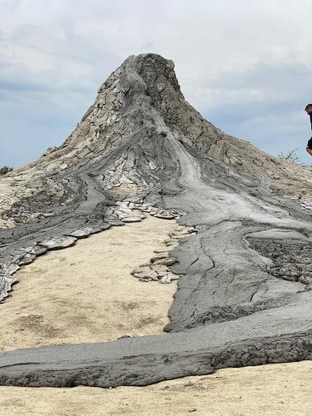 bubbling volcanoes in Romania