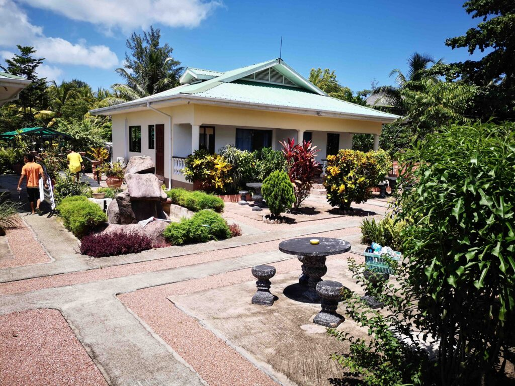 self-catering villa in La Digue, Seychelles