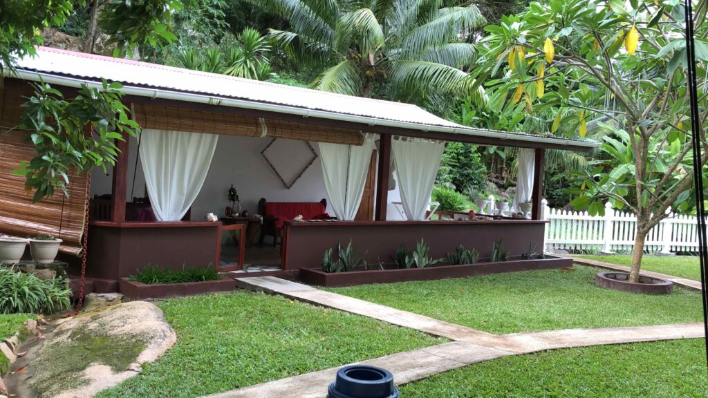 Our self-catering villa in Praslin, Seychelles