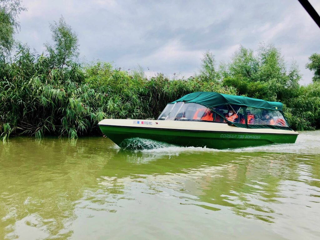 A Complete Guide To The DANUBE DELTA, Romania, Commuting from Tulcea to Sulina by speed boat.