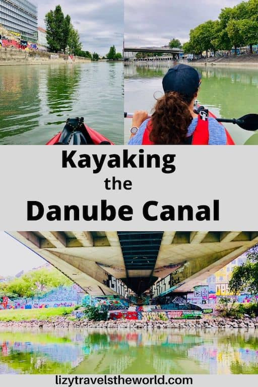 Kayaking the Danube Canal in Vienna