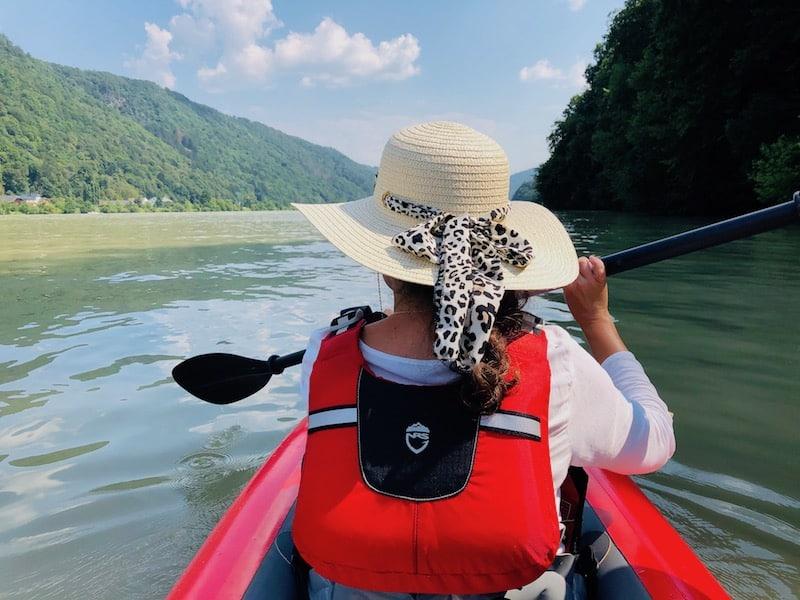 Kayaking the Danube in Austria