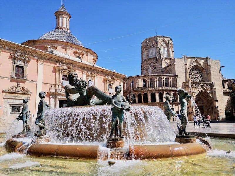 Pplaza de Virgen, Valencia